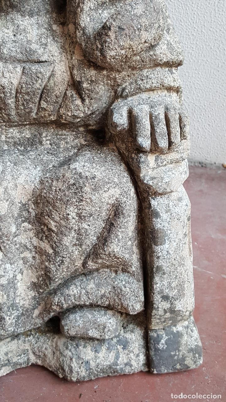 Arte: Escultura de piedra preciosa. Figura piedra. Arte piedra. - Foto 4 - 89641556