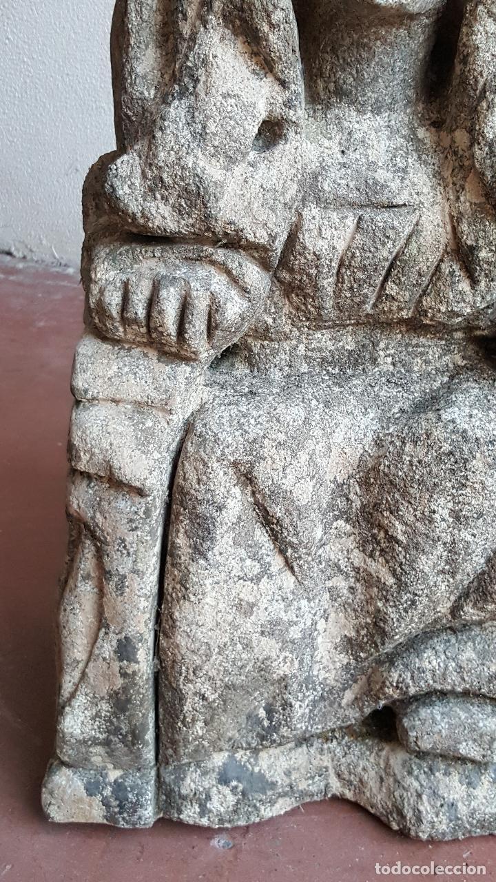 Arte: Escultura de piedra preciosa. Figura piedra. Arte piedra. - Foto 5 - 89641556