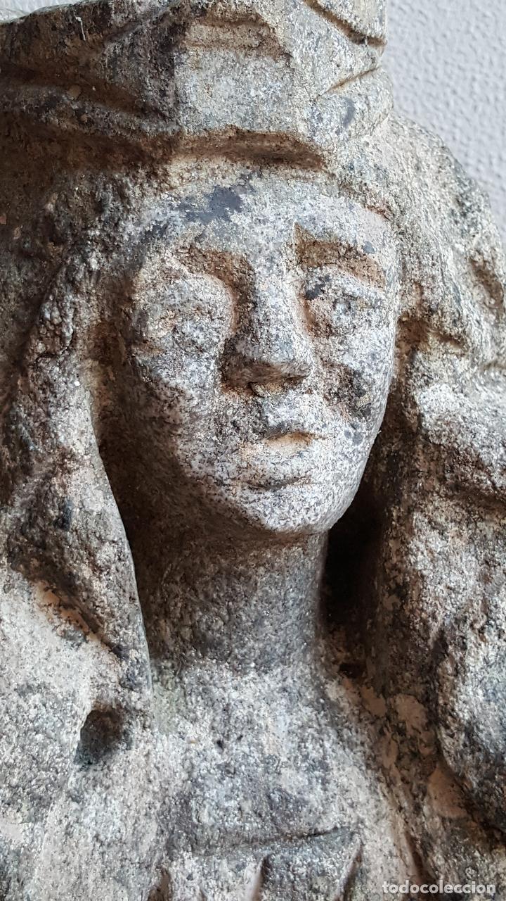 Arte: Escultura de piedra preciosa. Figura piedra. Arte piedra. - Foto 11 - 89641556