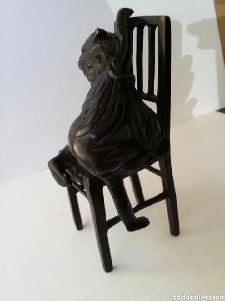Arte: ANTIGUA ESCULTURA EN BRONCE SIN FIRMAR ¿ JUAN CLARA ? - Foto 6 - 89841567