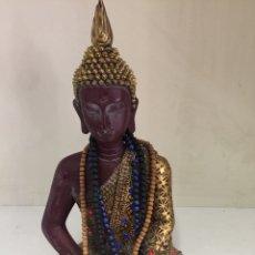 Arte: BUDA THAILANDES CON PIEDRAS. Lote 90344107