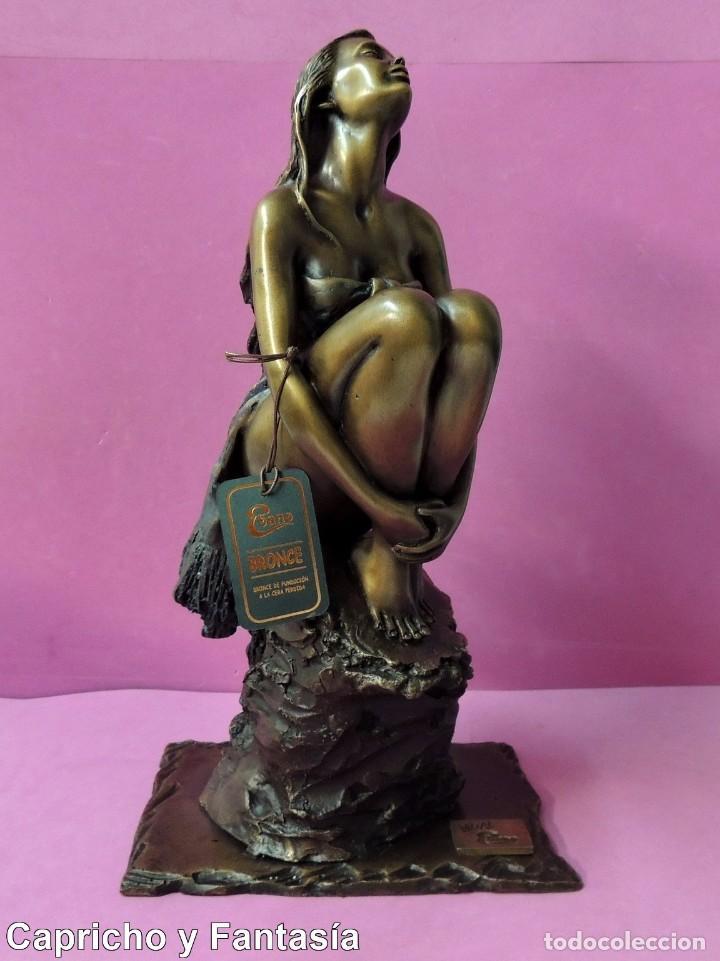 ESCULTURA DE BRONCE Nº 1980 (Arte - Escultura - Bronce)