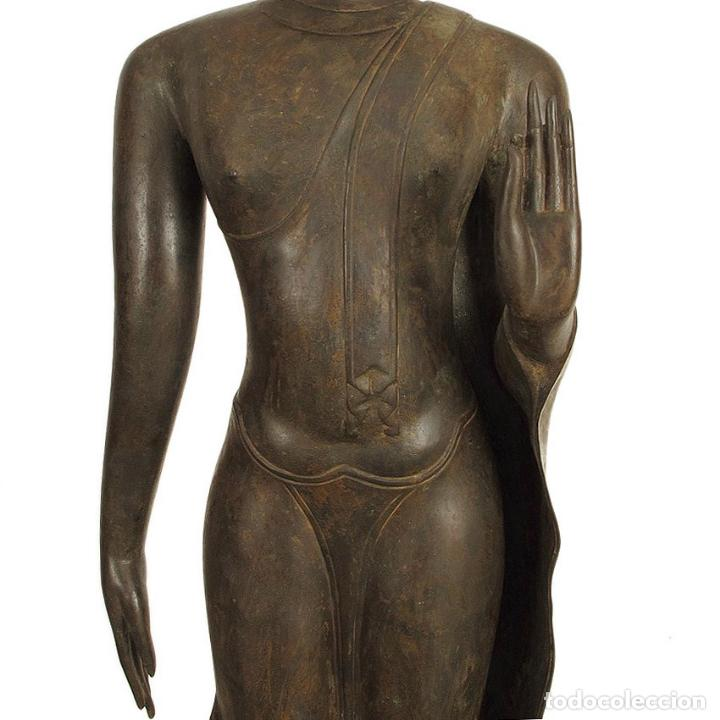 Arte: Impresionante bronce de Buda Sukothai de la bienvenida. 193cm de alto - Foto 7 - 90507250