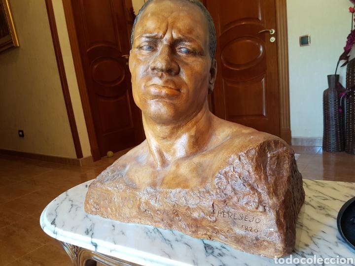 EL ESCLAVO , PERESEJO (1887-1978) JOSE PEREZ PEREZ.VER DESCRIPCIÓN. BARCELONA, ALCOY (Arte - Escultura - Terracota )