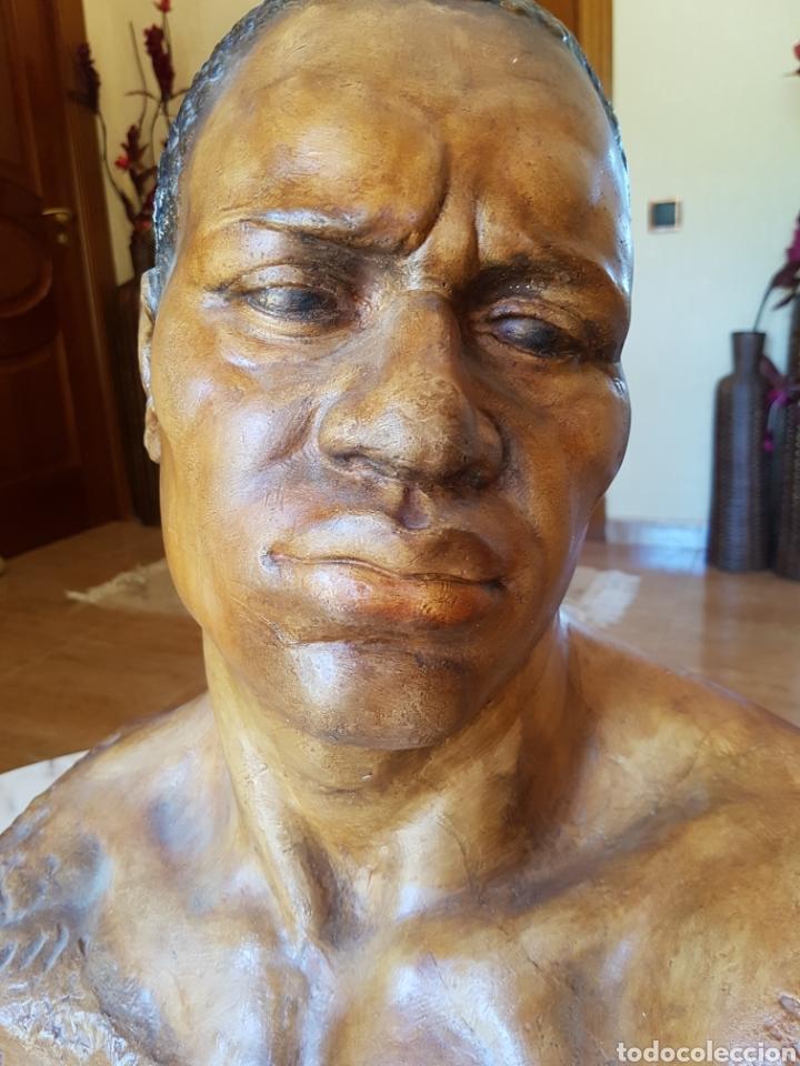 Arte: El esclavo , PERESEJO (1887-1978) JOSE PEREZ PEREZ.Ver descripción. BARCELONA, ALCOY - Foto 4 - 90958974