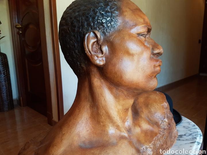 Arte: El esclavo , PERESEJO (1887-1978) JOSE PEREZ PEREZ.Ver descripción. BARCELONA, ALCOY - Foto 6 - 90958974