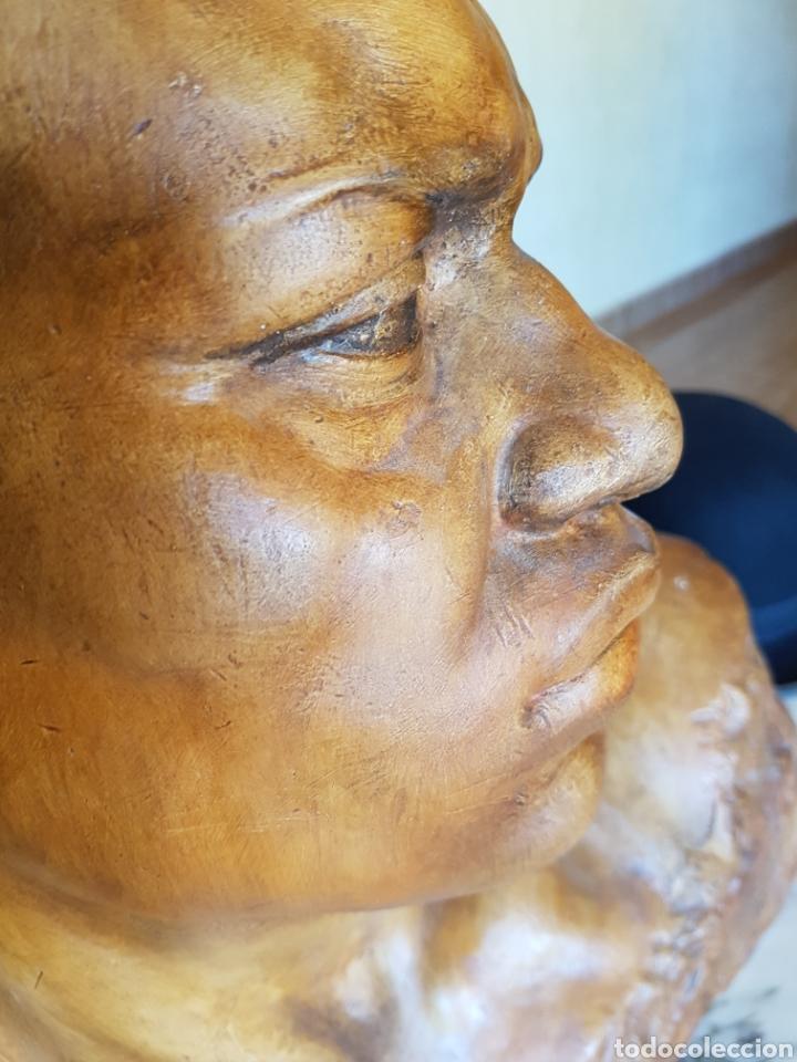 Arte: El esclavo , PERESEJO (1887-1978) JOSE PEREZ PEREZ.Ver descripción. BARCELONA, ALCOY - Foto 10 - 90958974