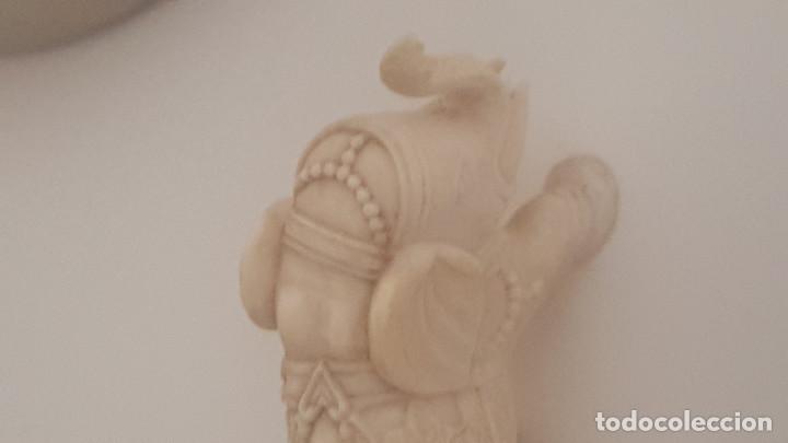 Arte: preciosa pareja de elefantes tallados en marfil - Foto 2 - 93034595