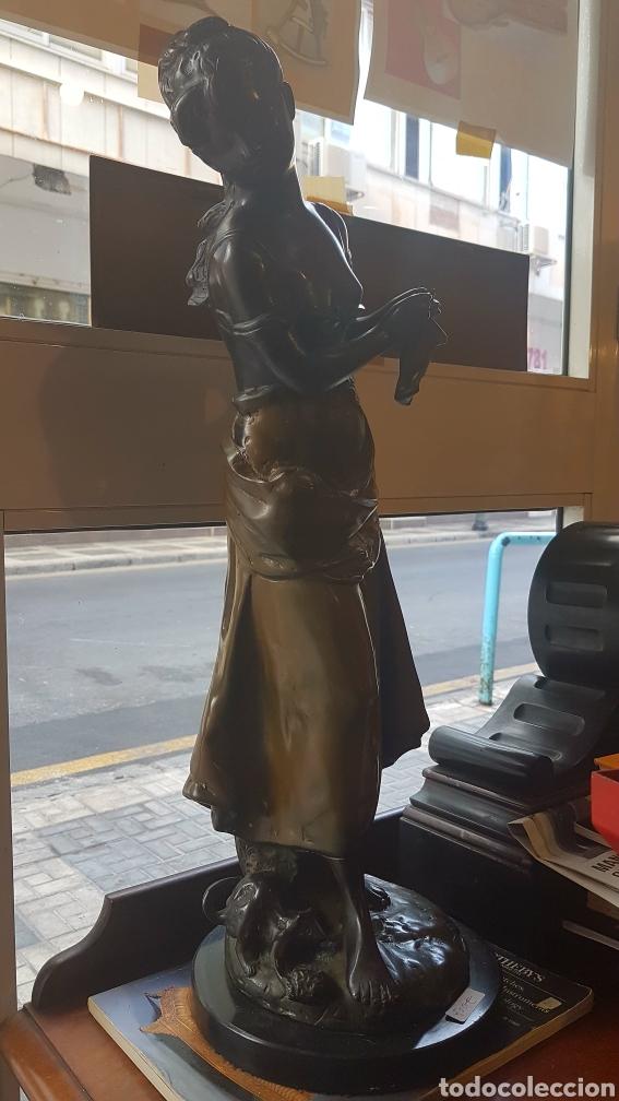Arte: Escultura bronce antigua - Foto 2 - 93390459