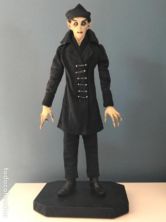 Arte: Escultura de accion de nosferatu en terracota- escultor Francano - Murcia - Foto 3 - 95125323