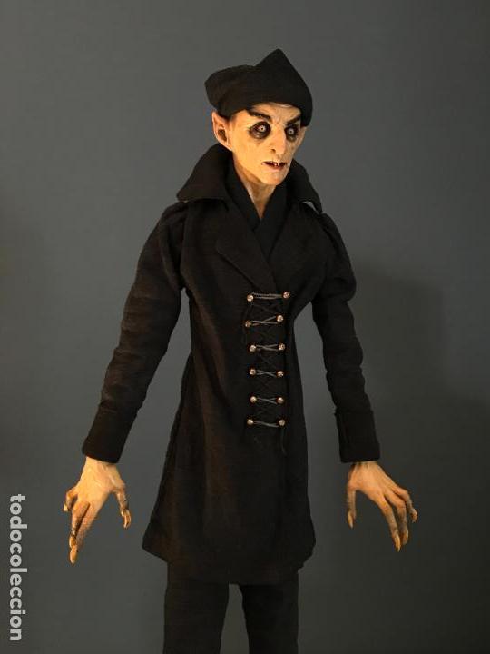 Arte: Escultura de accion de nosferatu en terracota- escultor Francano - Murcia - Foto 5 - 95125323