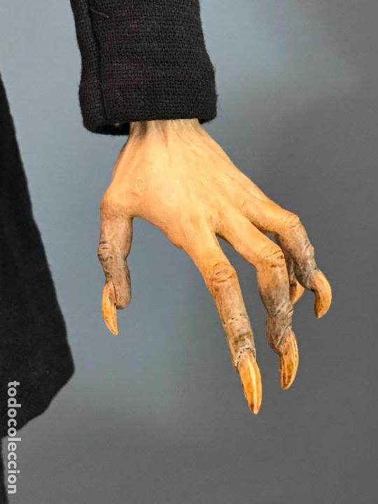 Arte: Escultura de accion de nosferatu en terracota- escultor Francano - Murcia - Foto 8 - 95125323