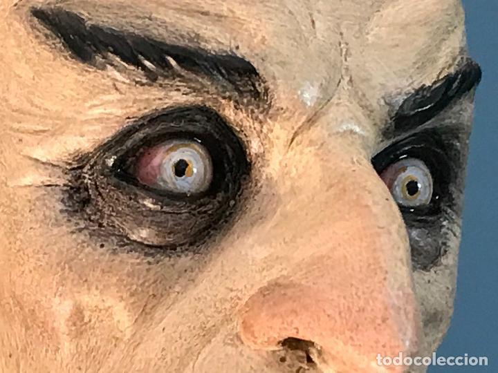 Arte: Escultura de accion de nosferatu en terracota- escultor Francano - Murcia - Foto 12 - 95125323