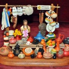 Arte: CECILIA VARGAS MUÑOZ -LA CHIVA- (COLOMBIA) PIEZA ORIGINAL EN TERRACOTA . Lote 96753371