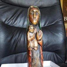 Kunst - Talla de madera policromada. - 97216911