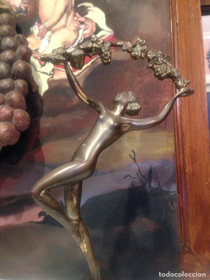 Arte: PRECIOSA ESCULTURA ART DECO 1920. - Foto 4 - 97632231