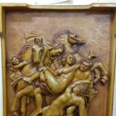 Arte: RELIEVE RAPTO DE LAS HIJAS DE LEUCIPO DE RUBENS. Lote 98213458