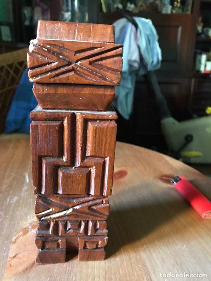 Arte: Ser o ídolo precolombino madera - Foto 3 - 98357186