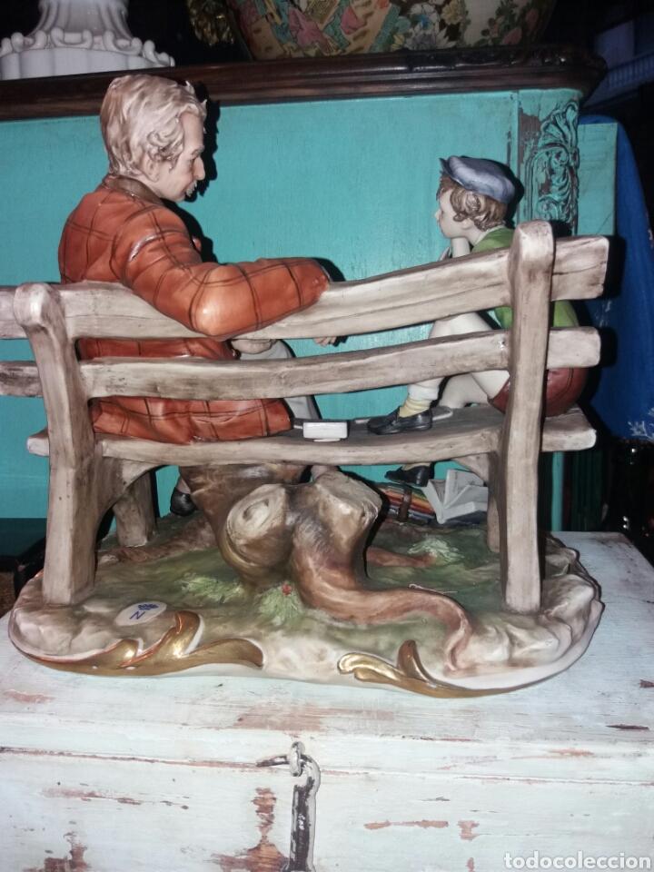 Arte: ESPECTACULAR GRUPO DE PORCELANA BISCUIT COLOREADA - Foto 10 - 98582911