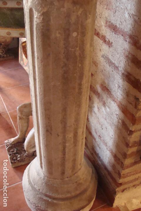 PEANA DE PIEDRA PRENSADA - SIGLO XX (Arte - Escultura - Piedra)