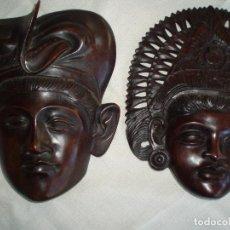 Kunst - Mascaras BALI en teka - 101699255