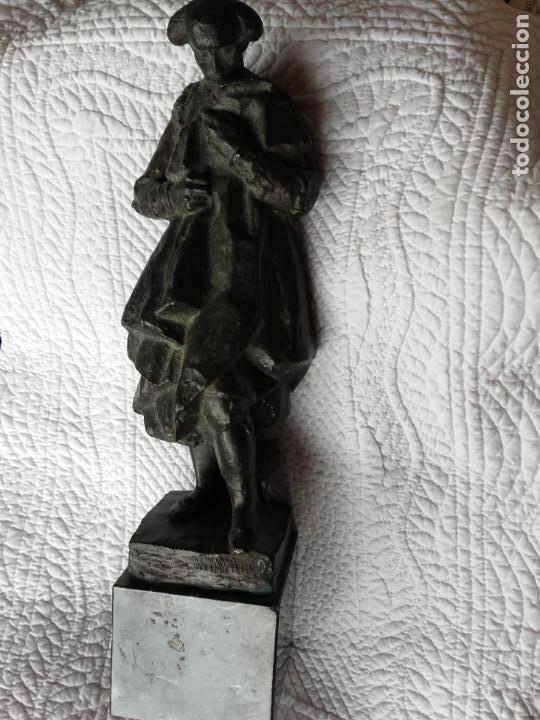 Arte: Figura torero en bronce firmada Navarro - Foto 3 - 101971519