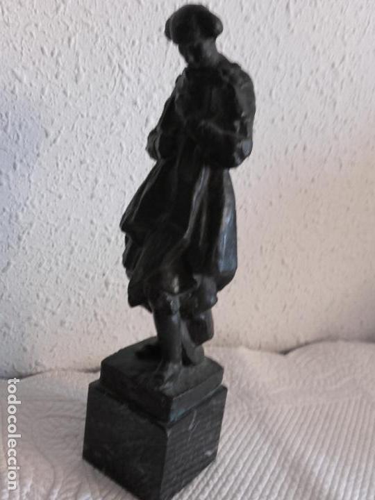 Arte: Figura torero en bronce firmada Navarro - Foto 10 - 101971519