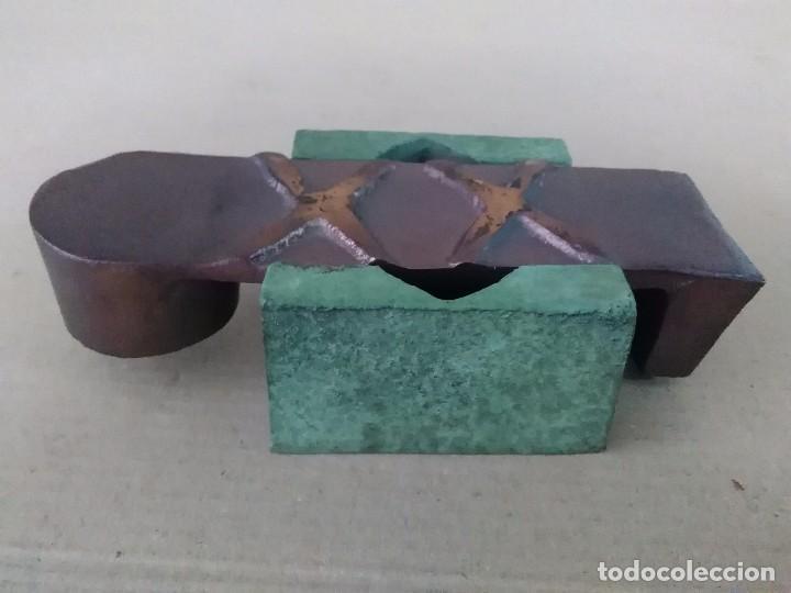Arte: Escultura bronce firmada - Foto 4 - 102100651
