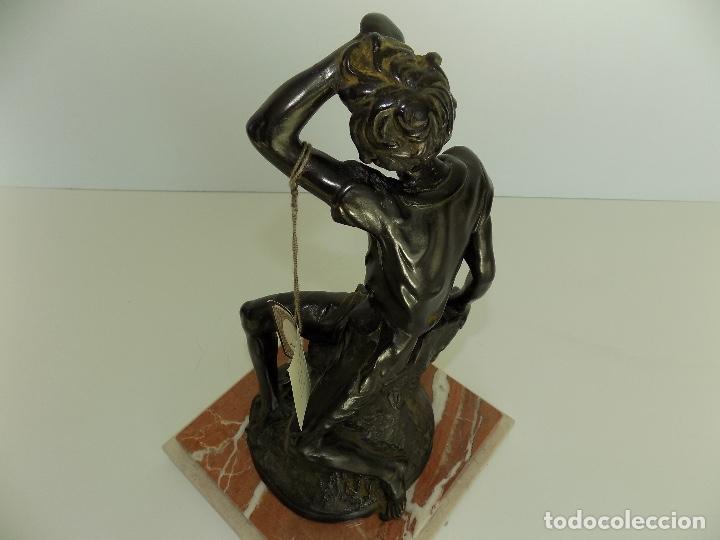 Arte: Escultura Urregui. Original años 1980/90. - Foto 7 - 102551567