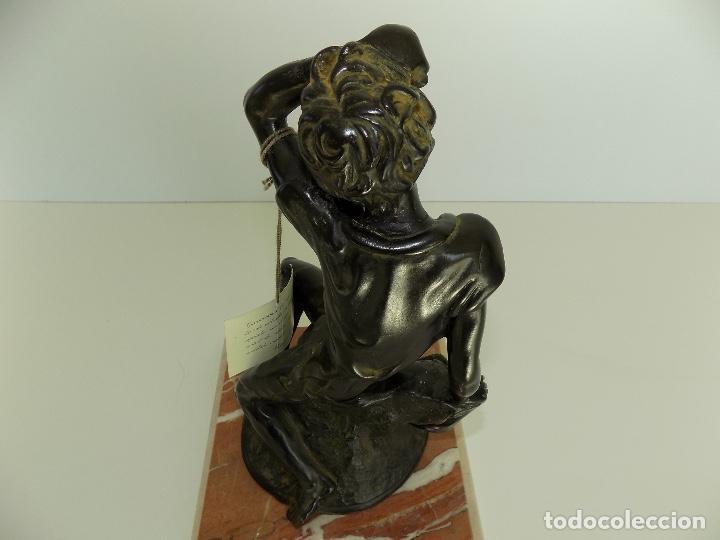 Arte: Escultura Urregui. Original años 1980/90. - Foto 8 - 102551567