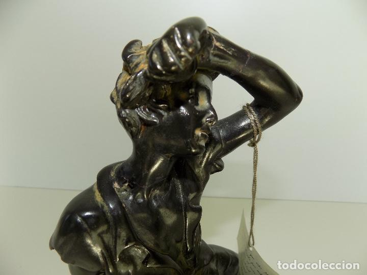 Arte: Escultura Urregui. Original años 1980/90. - Foto 11 - 102551567