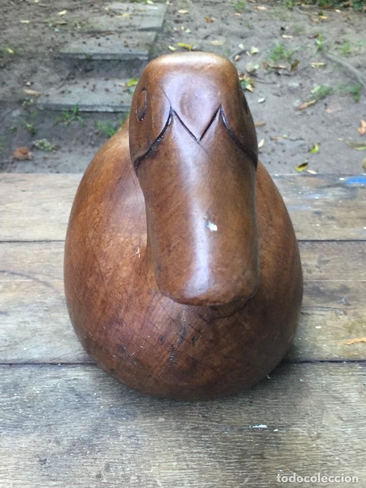 Arte: Pato en madera maciza - Foto 4 - 102725027