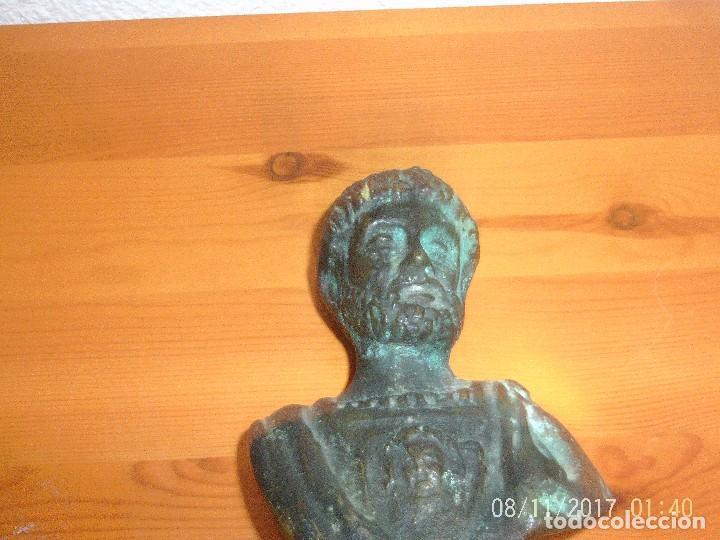 BUSTO EMPERADOR ADRIANO BRONCE (Arte - Escultura - Bronce)