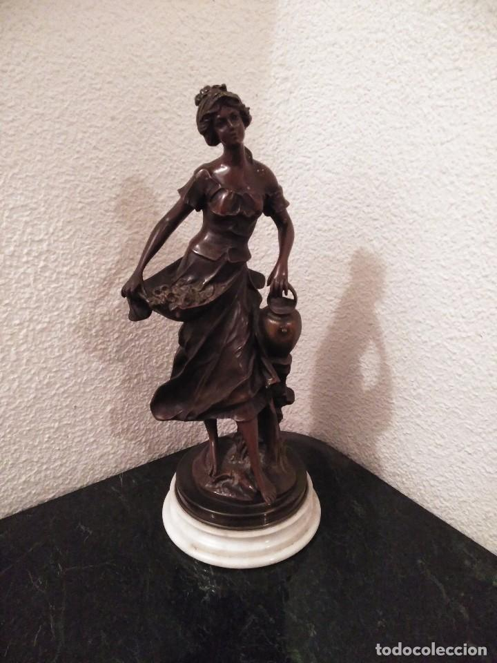 FIGURA EN BRONCE (Arte - Escultura - Bronce)