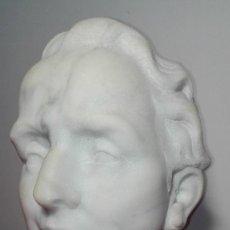 Arte: BUSTO DE MÁRMOL FIRMADO POR JOSEP VILADOMAT MASSANES 1944 ANDORRA(1899---1989). Lote 104067295