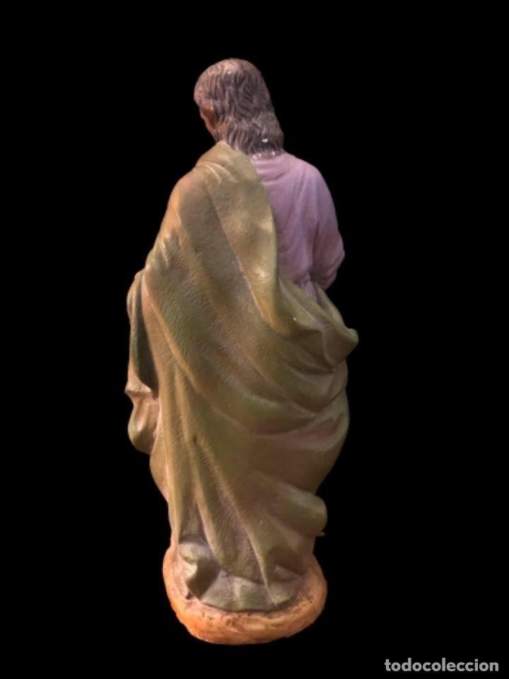 Arte: Antiguo San José de terracota, 30 cm altura. - Foto 3 - 98769075