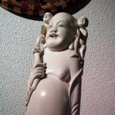 Arte: BUDA, MARFIL DE ELEFANTE. IVORY BUDDHA. Lote 104624539