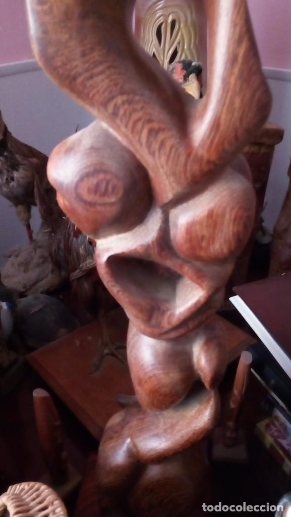 Arte: Antigua figura tallada en Cuba - Foto 4 - 105622151
