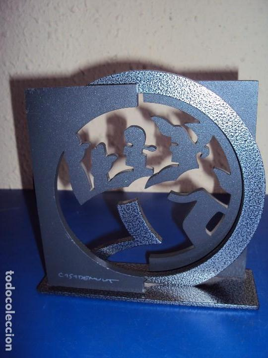 (ANT-171268) OBRA DE DAVID CASADEMUNT - NUMERADA 369 / 600 (Arte - Escultura - Hierro)