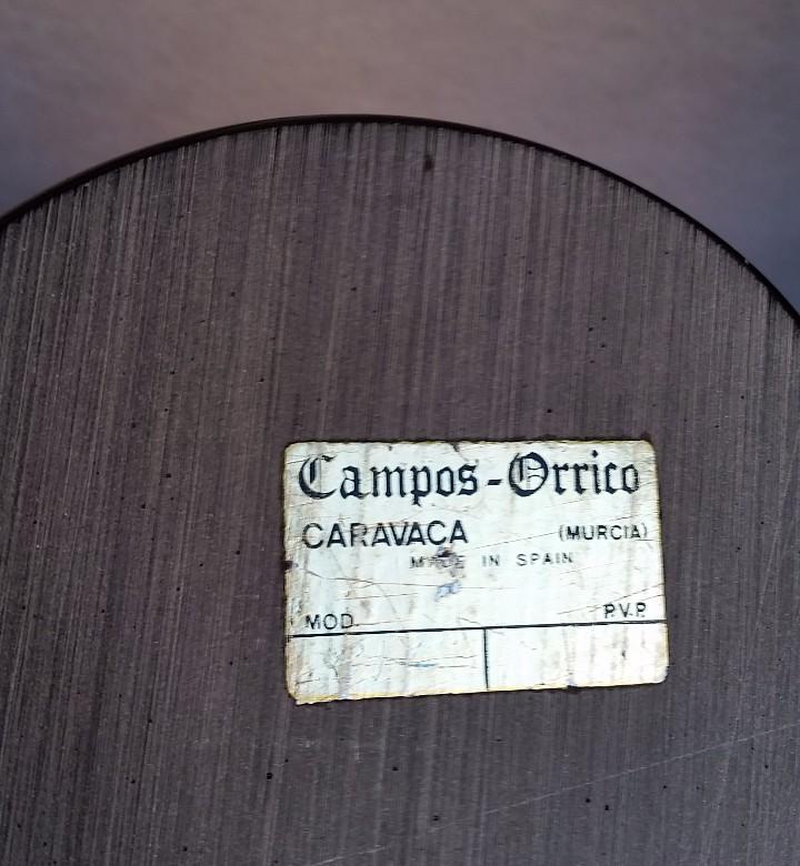 Arte: FIGURA INFANTIL DE CAMPOS ORRICO. CARAVACA. MURCIA. CON PEANA. CCAVENDE - Foto 8 - 105698163