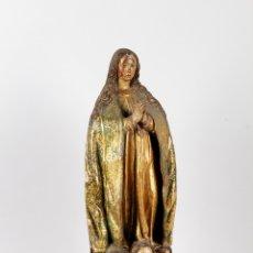 Arte: VIRGEN CASTELLANA. SIGLO XVII. BARROCO. EXCEPCIONAL CALIDAD.. Lote 106603447
