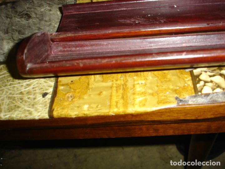 Arte: bonita caja en madera de palo de rosa palisandro con marqueteria en nacar siglo XIX - Foto 3 - 107352967