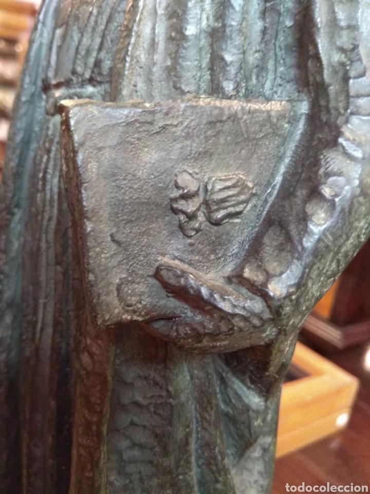 Arte: Escultura de Bronce Francesc de Vinatea - Escultor Manolo Rodríguez - Valencia - Foto 17 - 108002818