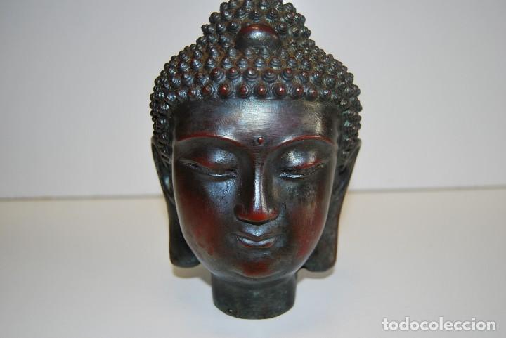 CABEZA BUDA (Arte - Escultura - Resina)