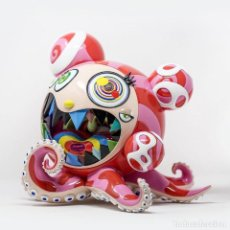 Arte: TAKASHI MURAKAMI MR. DOB FIGURE DOBTOPUS (A) BY BAIT X SWITCH COLLECTIBLES - 2017. Lote 109568615