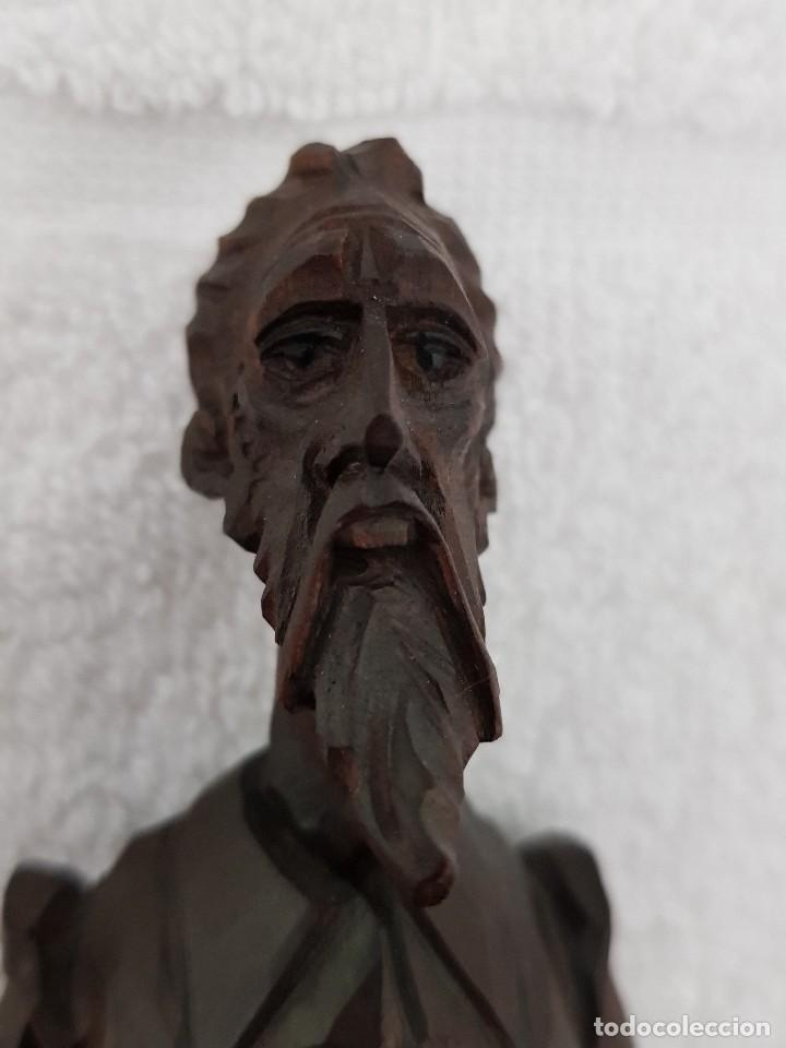 Arte: Talla madera de Don Quijote - Foto 2 - 110498379