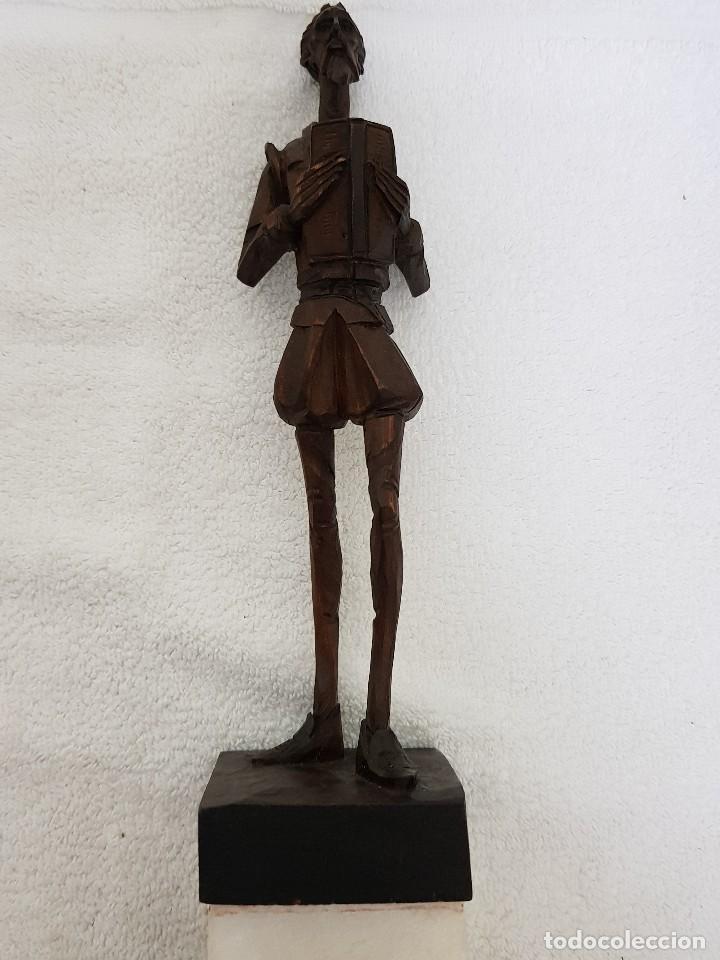 Arte: Talla madera de Don Quijote - Foto 3 - 110498379