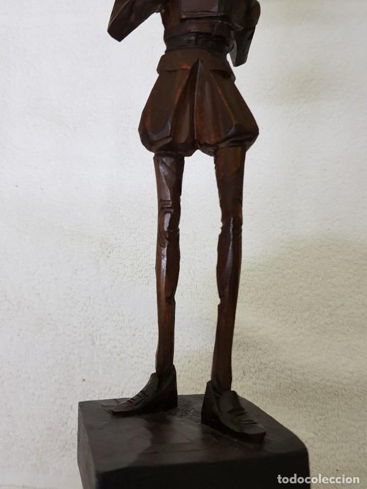 Arte: Talla madera de Don Quijote - Foto 4 - 110498379