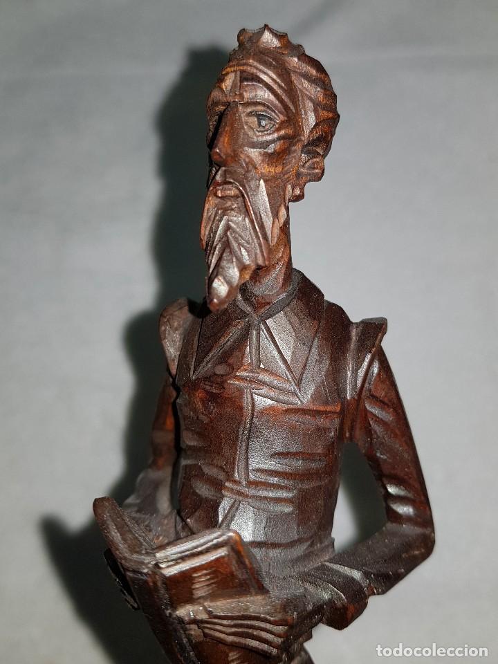 Arte: Talla madera de Don Quijote - Foto 5 - 110498379