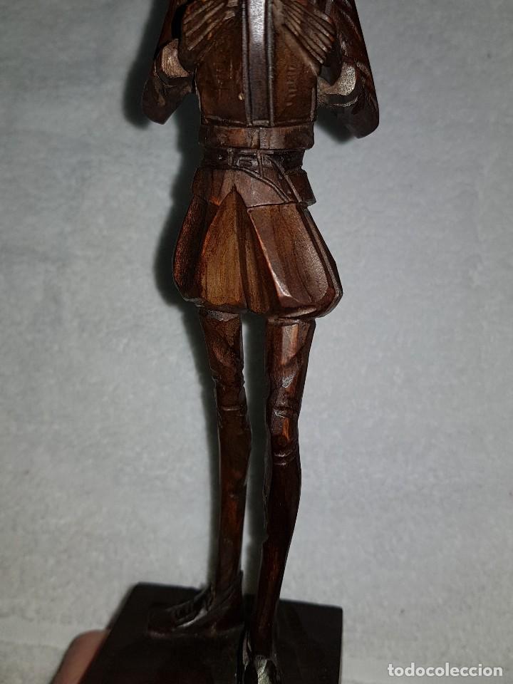 Arte: Talla madera de Don Quijote - Foto 6 - 110498379